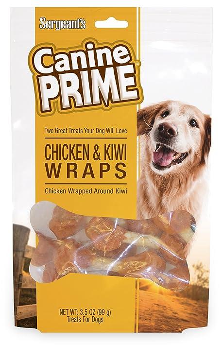 Amazon.com: Sargento de Canina Prime pollo Kiwi Wraps para ...
