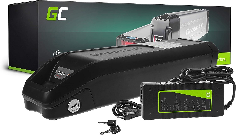 GC/® Batterie V/élo Electrique 36V 11.6Ah Li-ION Down Tube Cellules Originales Ebike Batterie et Chargeur