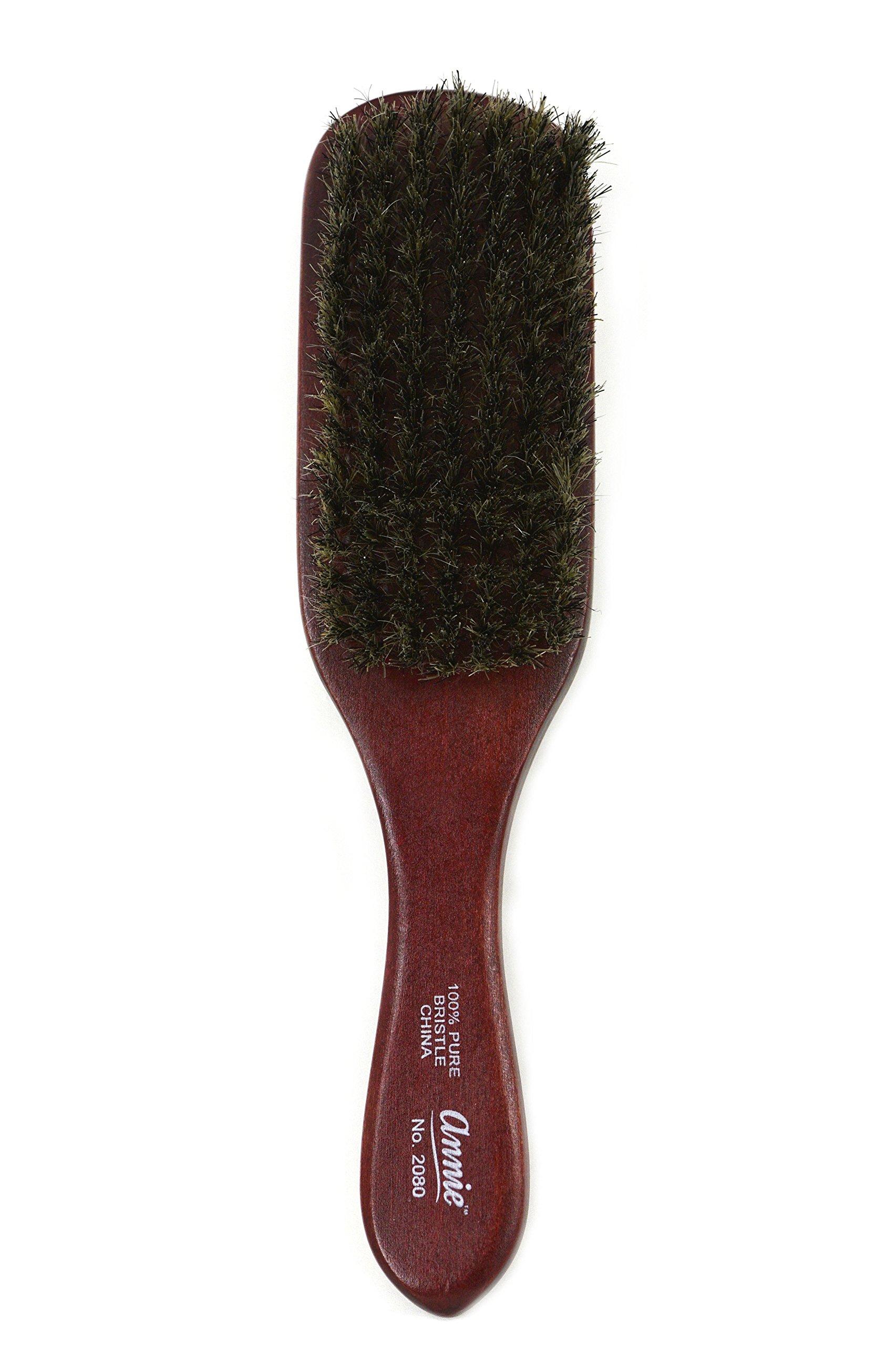 SOFT 100% PURE BOAR BRISTLE WAVE HAIR BRUSH DURAG MAN by Annie
