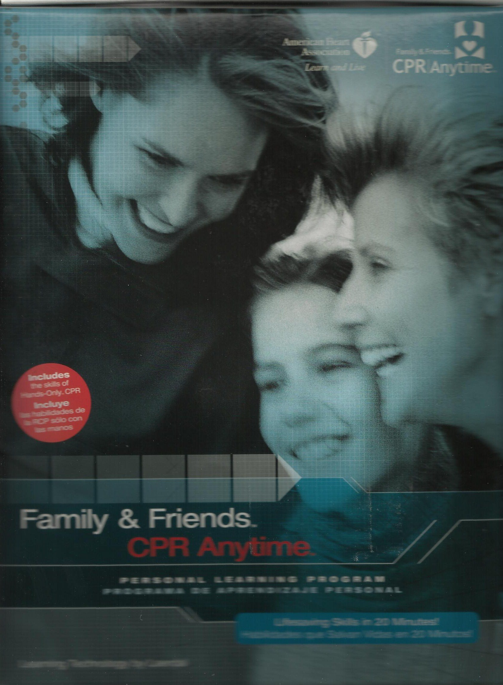 Family & Friends CPR Anytime: Personal Learning Program Kit