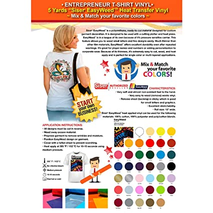 Amazon Gercutter Store Entrepreneur T Shirt Vinyl 5 Yards