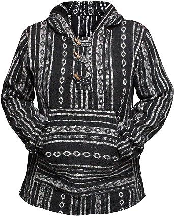 shopoholic fashion femme noir rasoir coupe Lutin Hippie Veste /à capuche