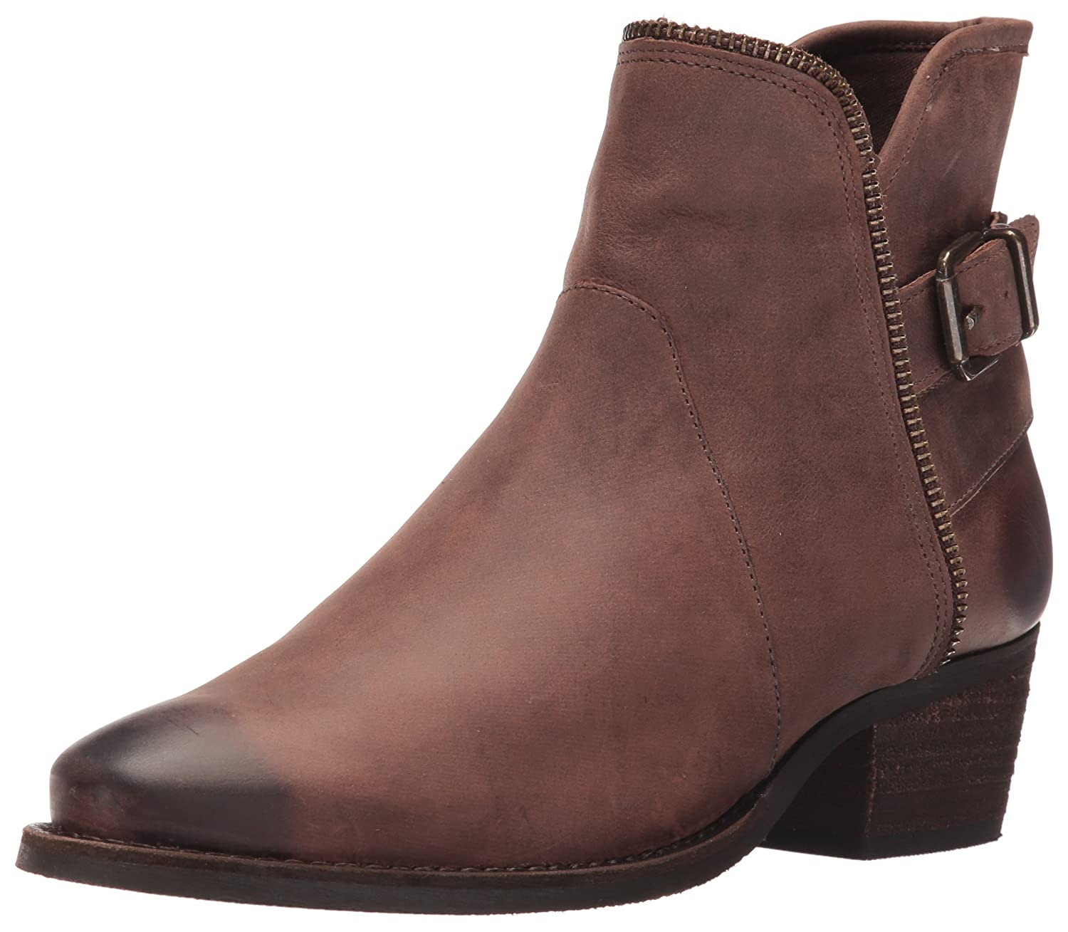 Walking Cradles Women's Gaston Ankle Boot B01BNHJYK0 8 B(M) US|Brown Distressed