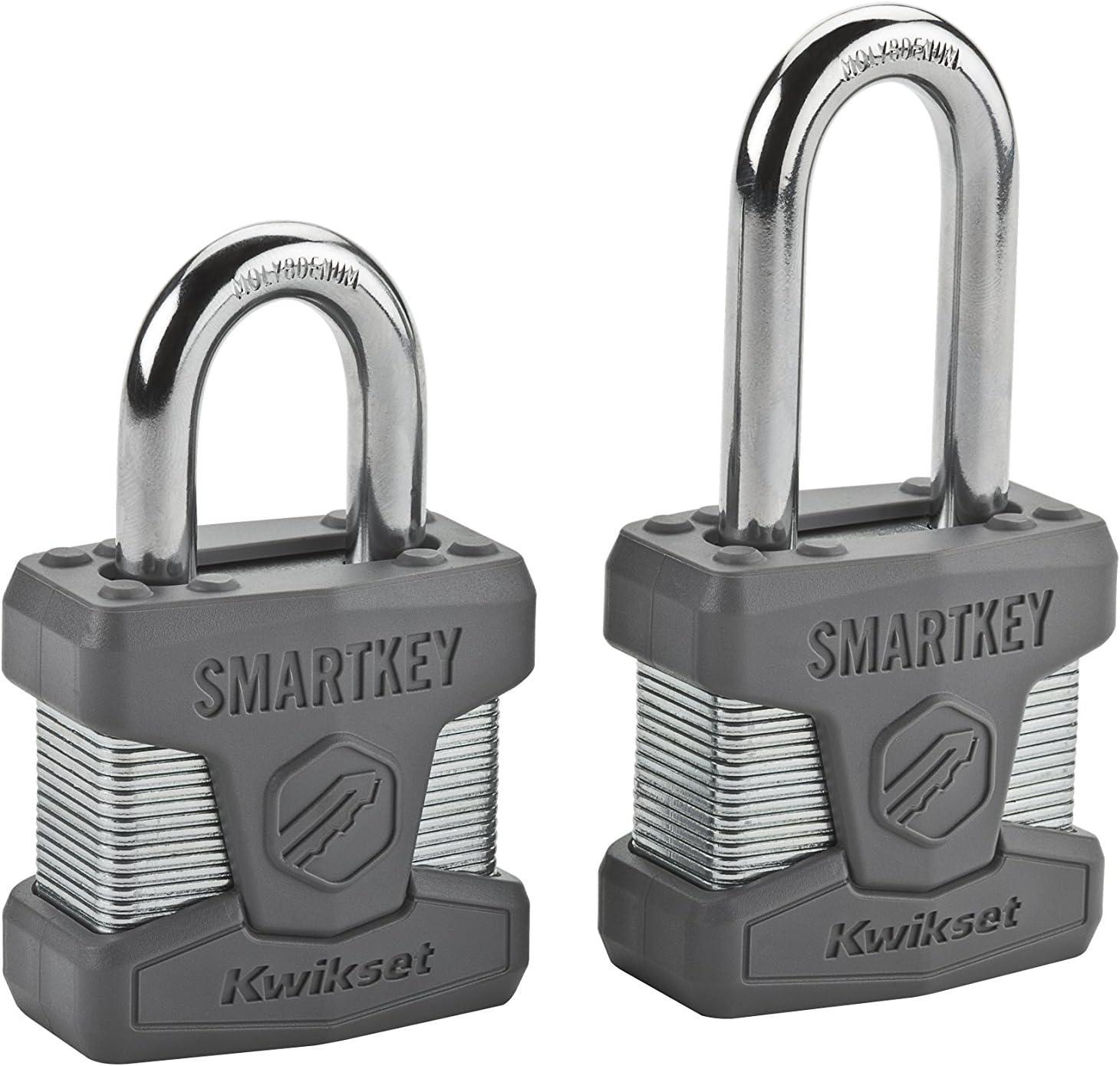Amazon.com: Kwikset. Candado de latón SmartKey ...