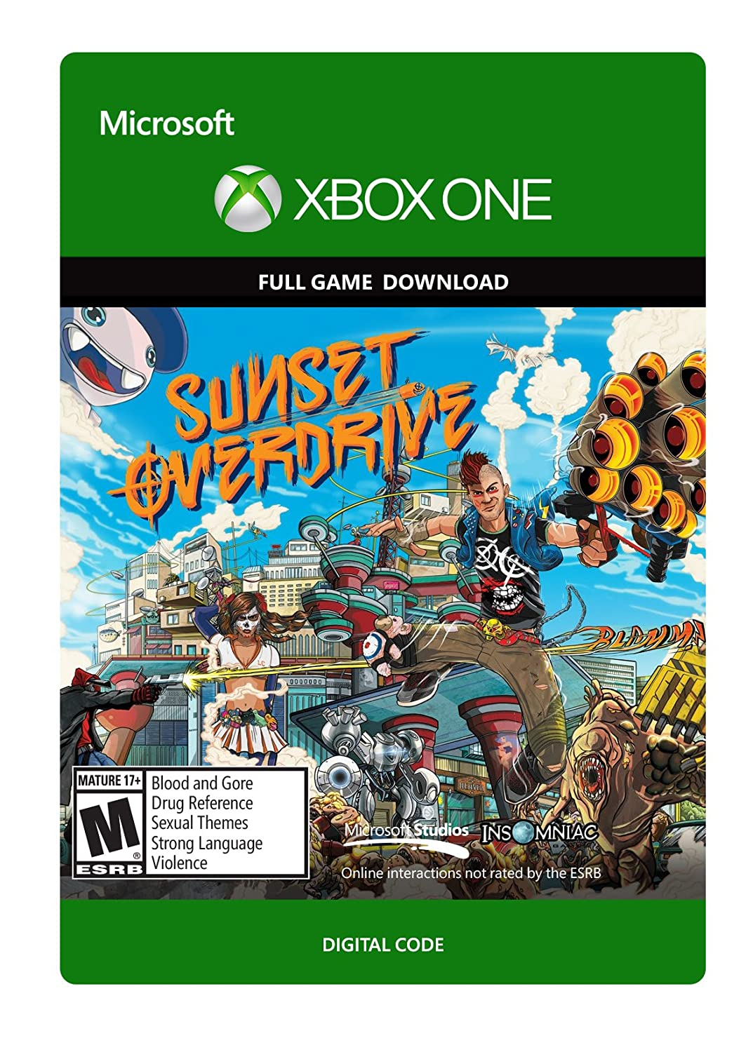 Sunset Overdrive - Xbox One Digital Code
