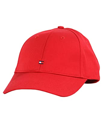 e56f05b03d6 Tommy Hilfiger Classic Mens Cap Red at Amazon Men s Clothing store