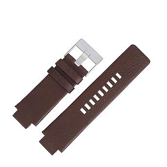 a6be7deb3e50 Diesel Bracelet de Montre Diesel DZ 1090, 18 mm cuir marron, Messieurs de  Accessoires