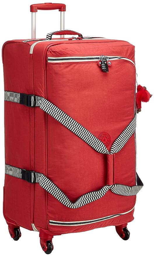 Kipling Cyrah L Equipaje de Mano, 79 cm, 101.5 litros, Rojo (Spicy