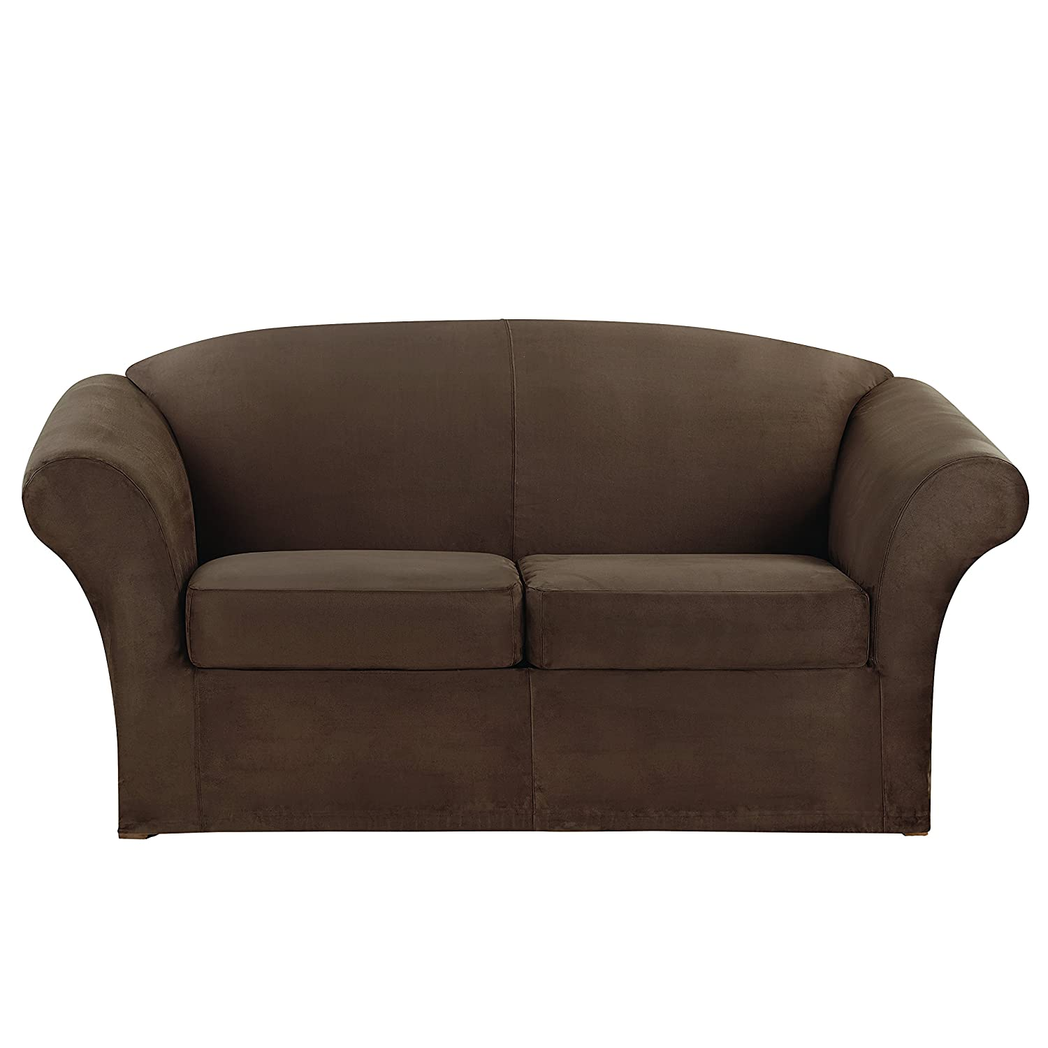 Amazon Sure Fit Stretch Suede Loveseat Slipcover