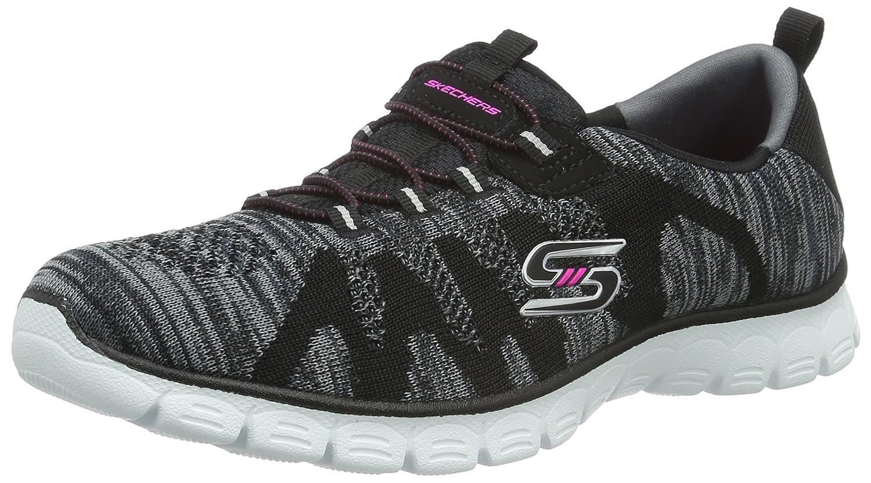 Skechers Women's Sport-Active Ez Flex 3.0 Take-The-Lead Sneaker B01BHRS4RA 7.5 B(M) US|Black/White