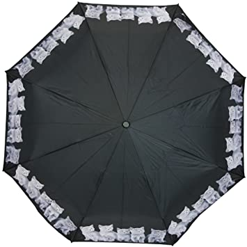 PealRa Grey Cats Super Mini Umbrella