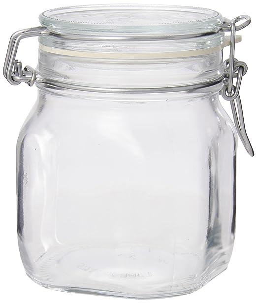 Amazon.com: Bormioli Rocco Fido Clear Jar, 25.25 Oz.: Mason Jars: Kitchen U0026  Dining