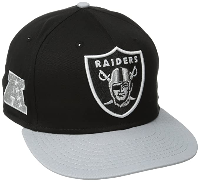 Amazon.com   NFL Oakland Raiders Baycik 9Fifty Snapback Hat f327322b844