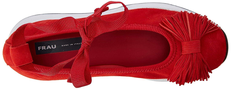FRAU scarpe da ginnastica, Ballerine con Cinturino Cinturino Cinturino alla Caviglia Donna 3e3090