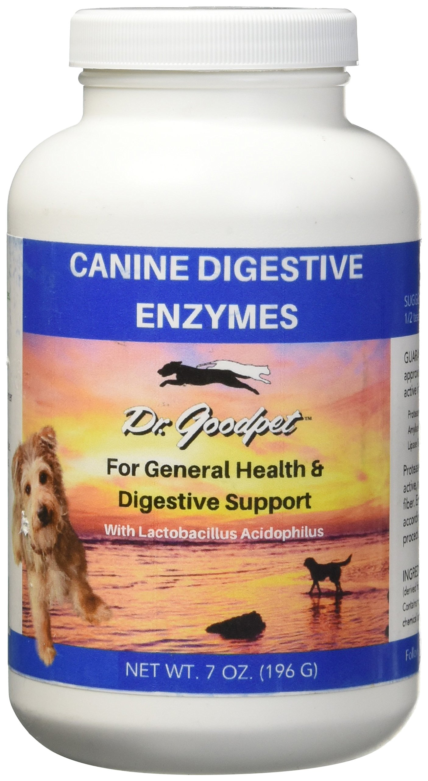 Dr. Goodpet - Canine Formula Digestive Enzymes - 7 oz