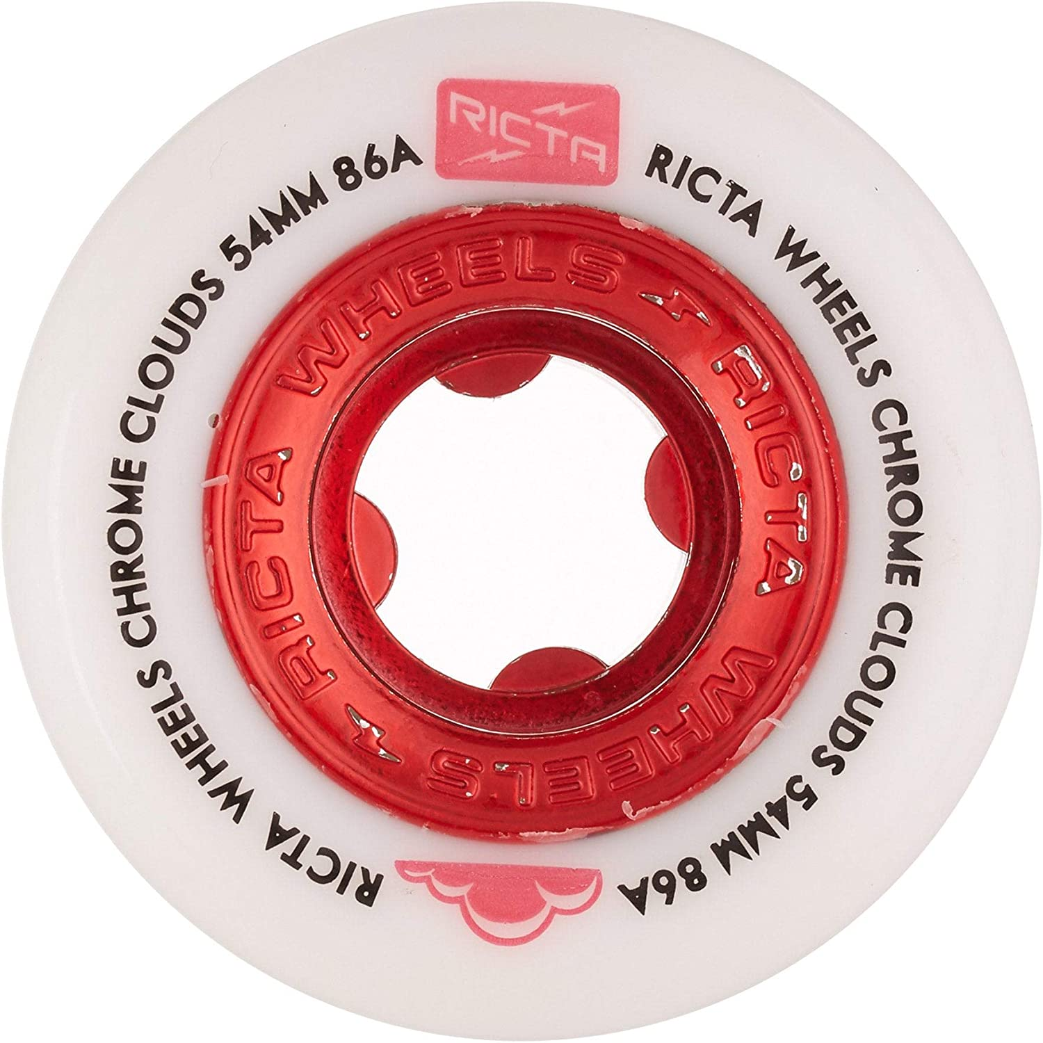Ricta Chrome Clouds Skateboard Wheels