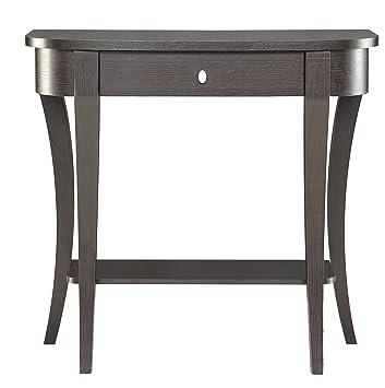 Convenience Concepts Modern Newport Console Table, Rich Espresso