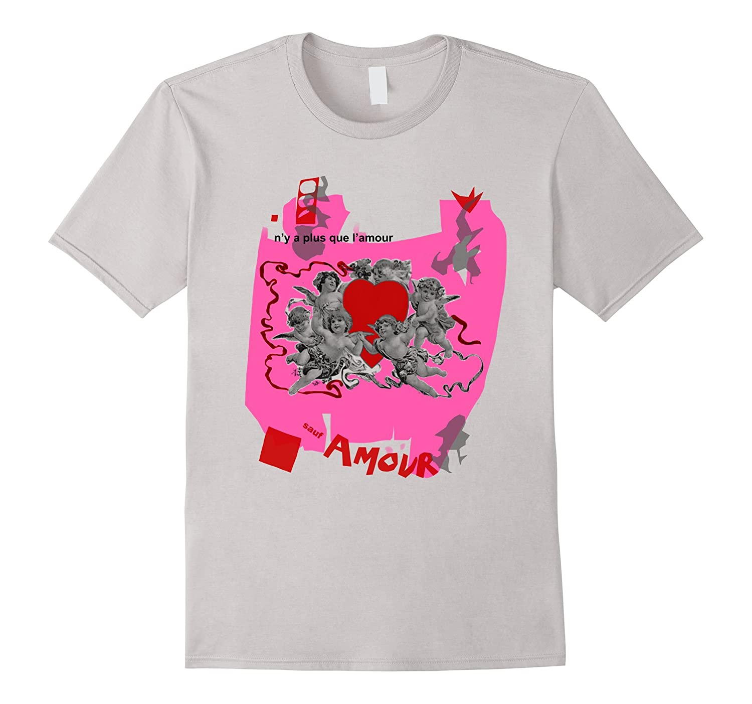 Amour Beat It 80's Music Video T-Shirt-FL