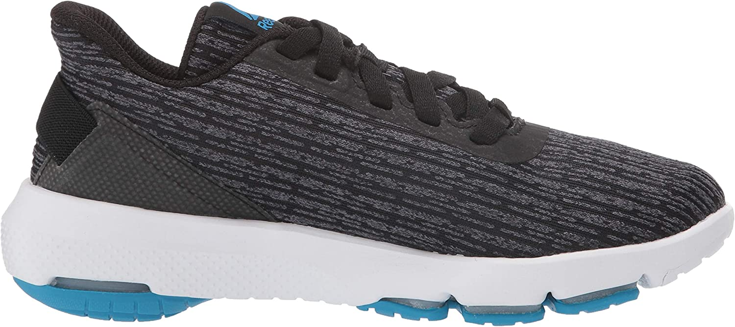 Reebok Women's Cloudride DMX 4.0 Walking Shoe Black/Grey/Cyan/White