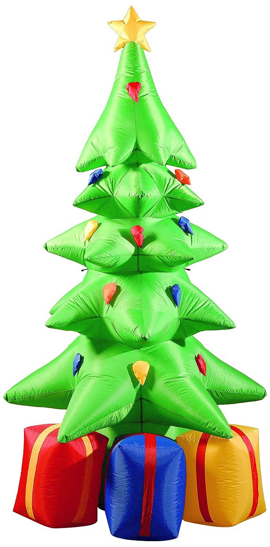 Brite Ideas - Árbol de Navidad con regalos hinchable (210 cm ...