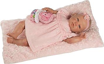Amazon.es: Berbesa Baby Reborn, muñeca con Vestido 5300: Juguetes y juegos
