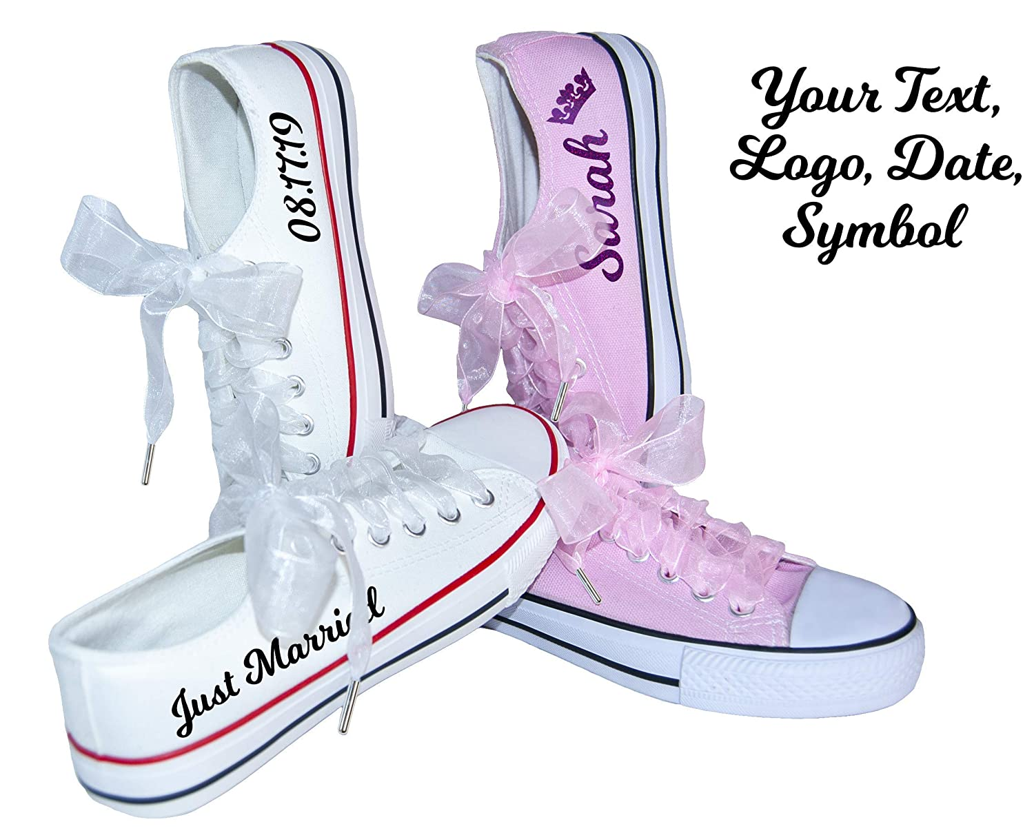 Personalised Wedding Shoes for Bride