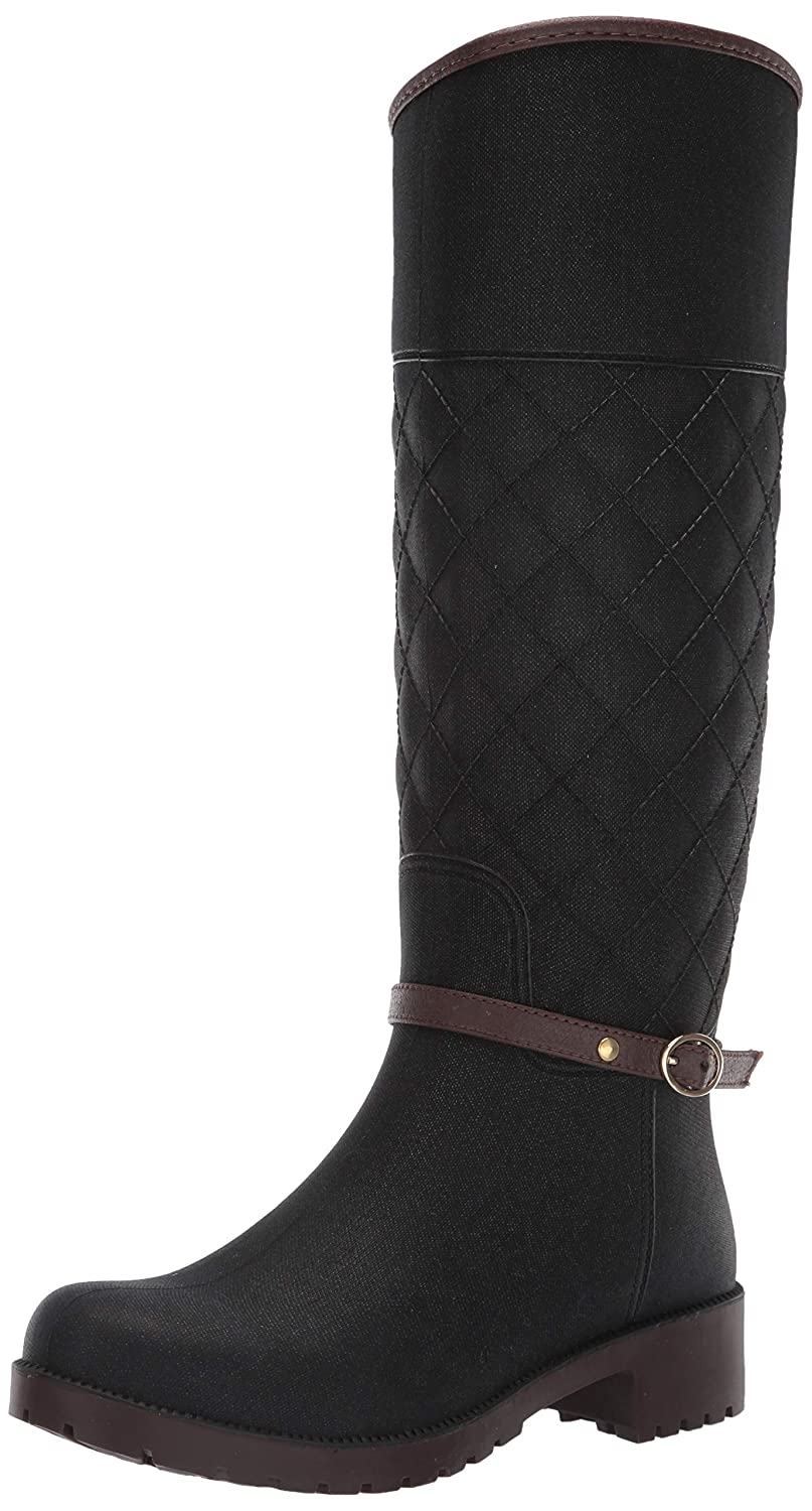 Black Combo Aerosoles Womens Martha Stewart South Salem Rain Boot