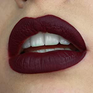 Liquid Matte Lipstick Long Lasting Kissproof Lip Gloss - Violet