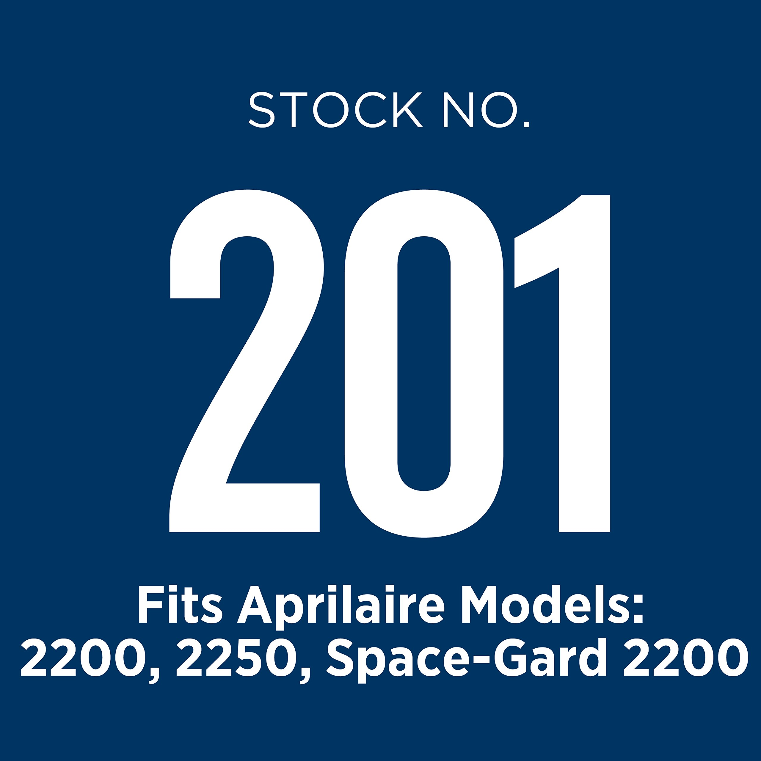 Aprilaire 201 Air Filter for Air Purifier Models, 2200 and 2250; Pack of 4 by Aprilaire (Image #2)