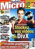Micro Hebdo N°396 17 Au 23 Novembre 2005 : Stockez vos video en divx