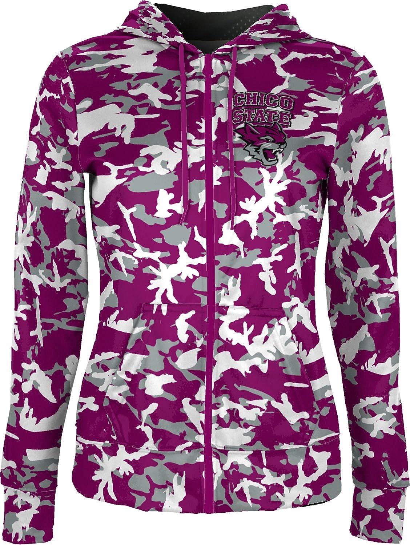 ProSphere California State University Chico Girls Zipper Hoodie School Spirit Sweatshirt Camo