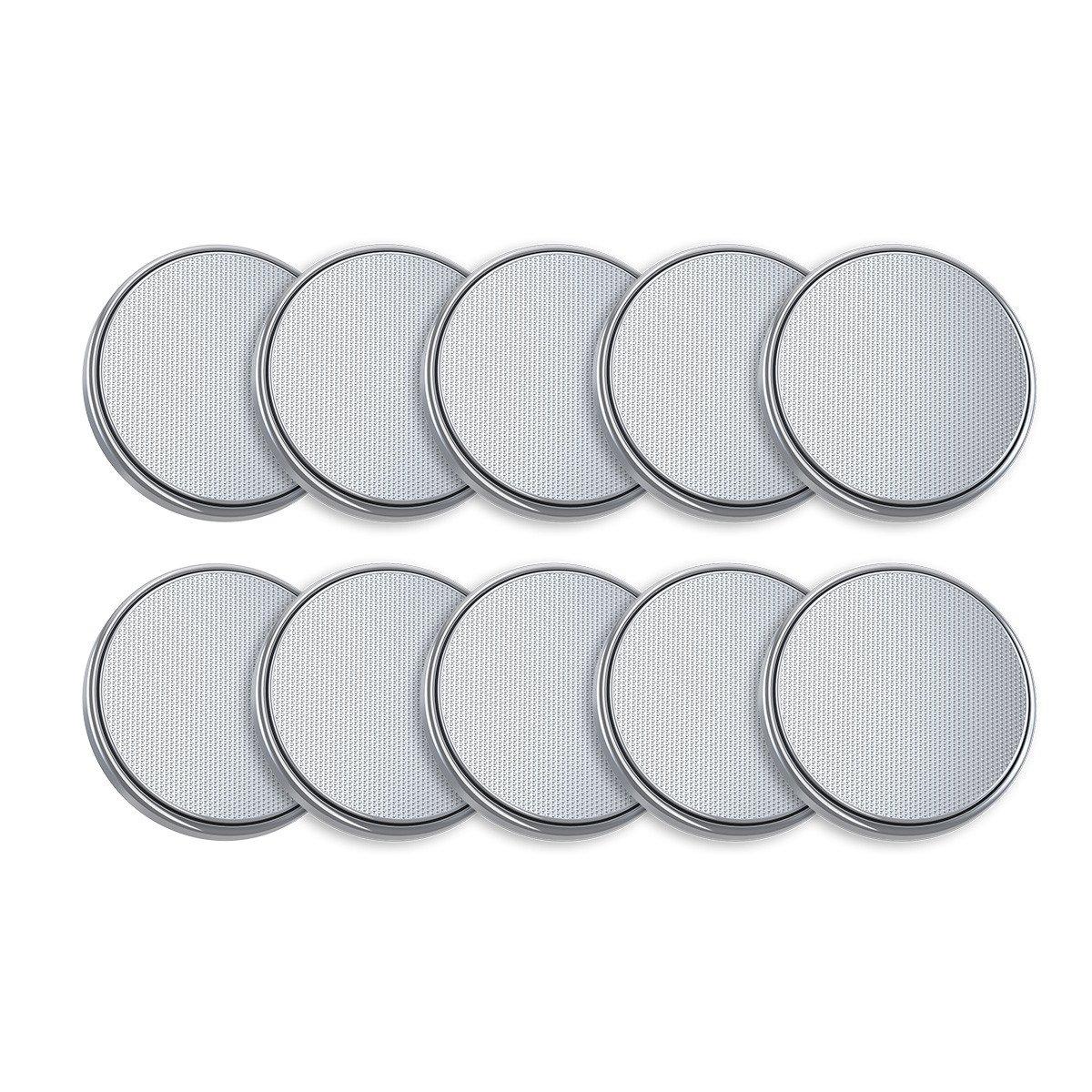 EBL 3V CR2032 DL2032 ECR2032 Pilas de Botón de Litio para Reloj Electrónicos - 10 Unidades
