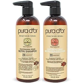 PURA D'OR Professional Grade Natural Ingredients Anti-Hair Thinning