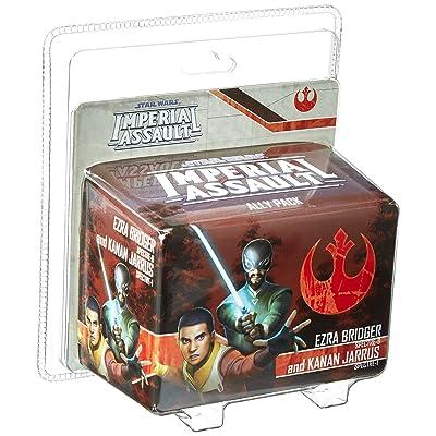 Star Wars: Imperial Assault - Ezra Bridger and Kanan Jarrus: Toys & Games