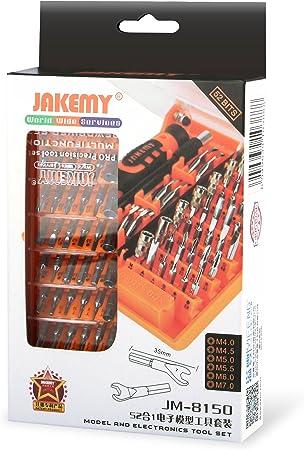 Jakemy JM-8150 52 en 1 Précision Tournevis Set Réparation Outils Kit Pour Téléphones PIECES