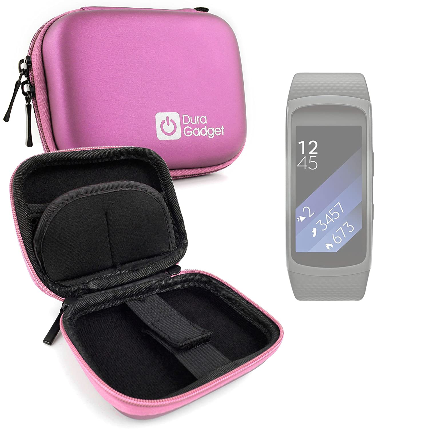 DURAGADGET Estuche Rígido Rosa para CT Cases DZ09, Pebble ...