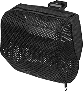 XAegis Brass Catcher, Universal Shell Catcher Net with Picatinny Rail Mount Heat Resistant Mesh Brass Collection for Rifle Range (Brass Catcher with ONE pic Rail Mount)
