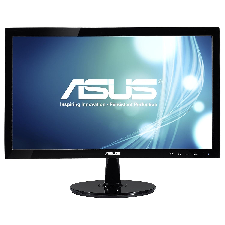 Asus VS207D-P 19.5 Widescreen LED Monitor, 16:9, 5ms, 1600x900, 250 Nit, VGA, Black by Asus B00NMYAAQA