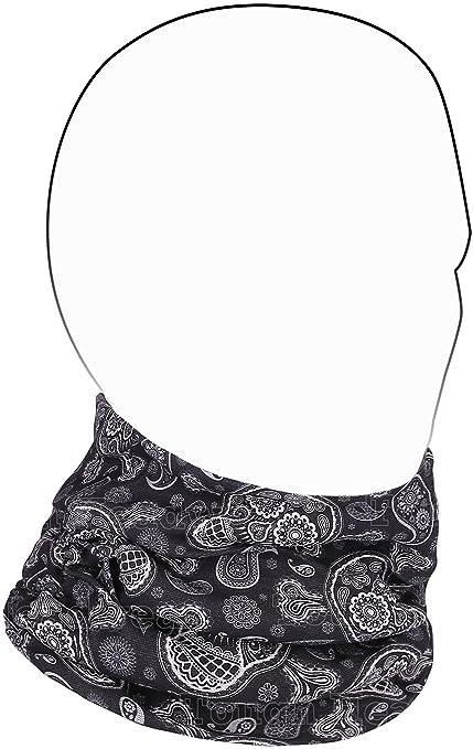 ca44a41b4e6 Amazon.com   Fleece Neck Warmer  Prints  - Reversible Neck Gaiter ...