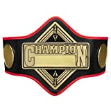 Title Boxing Ring of Champions Title Belt, Black
