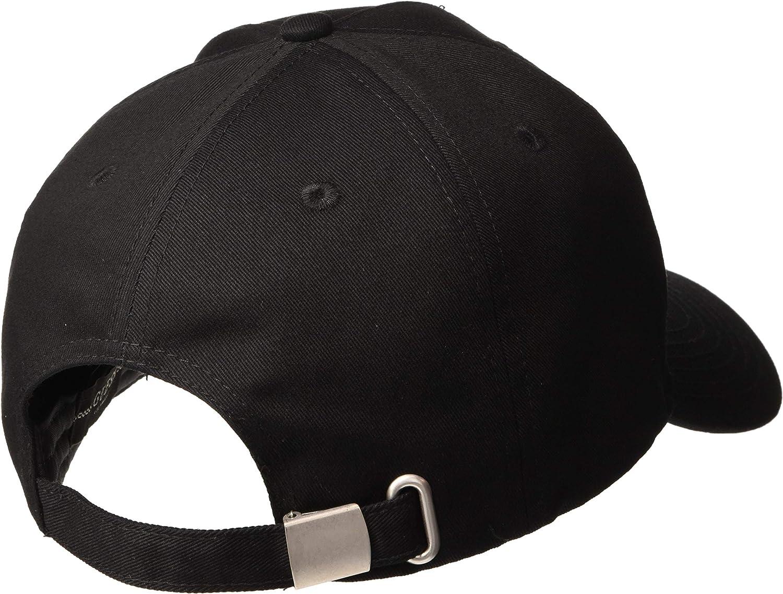 Guess Iconic Cap Gorra de béisbol, Negro, Uni para Hombre: Amazon ...
