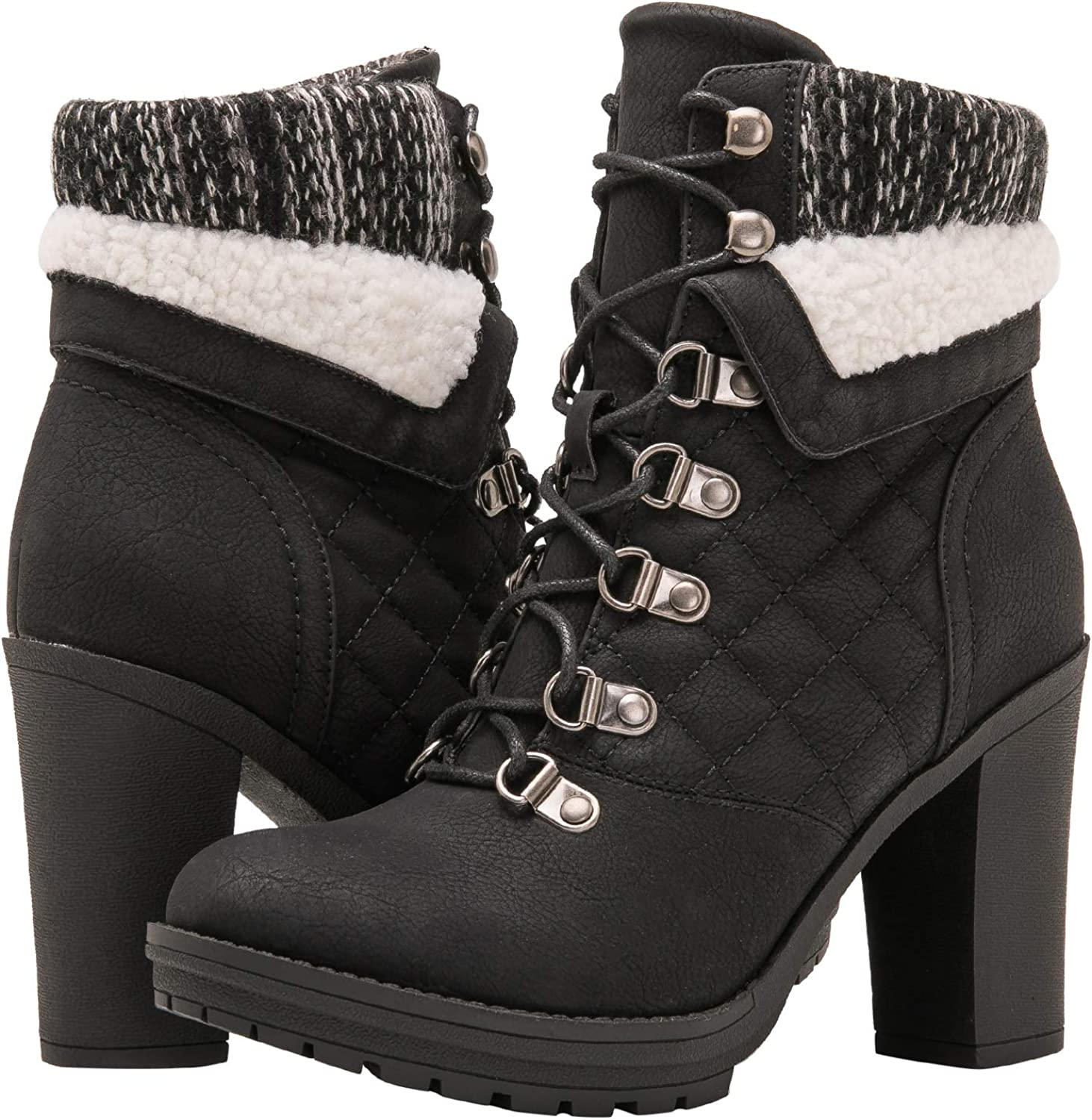 GLOBALWIN Womens Fashion Ankle Boots