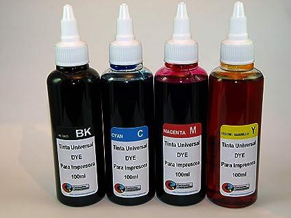 Tinta Universal Compatible para HP, Brother, Canon, Lexmark ...