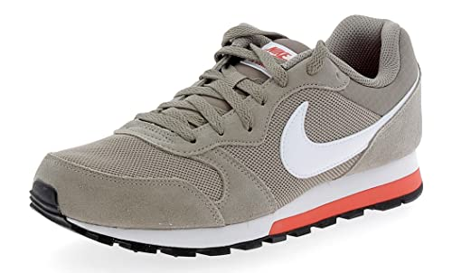 Nike MD Runner 2, Zapatillas para Hombre, Verde (Neutral Olive/Sequoia-Light Blue Fury 201), 45.5 EU