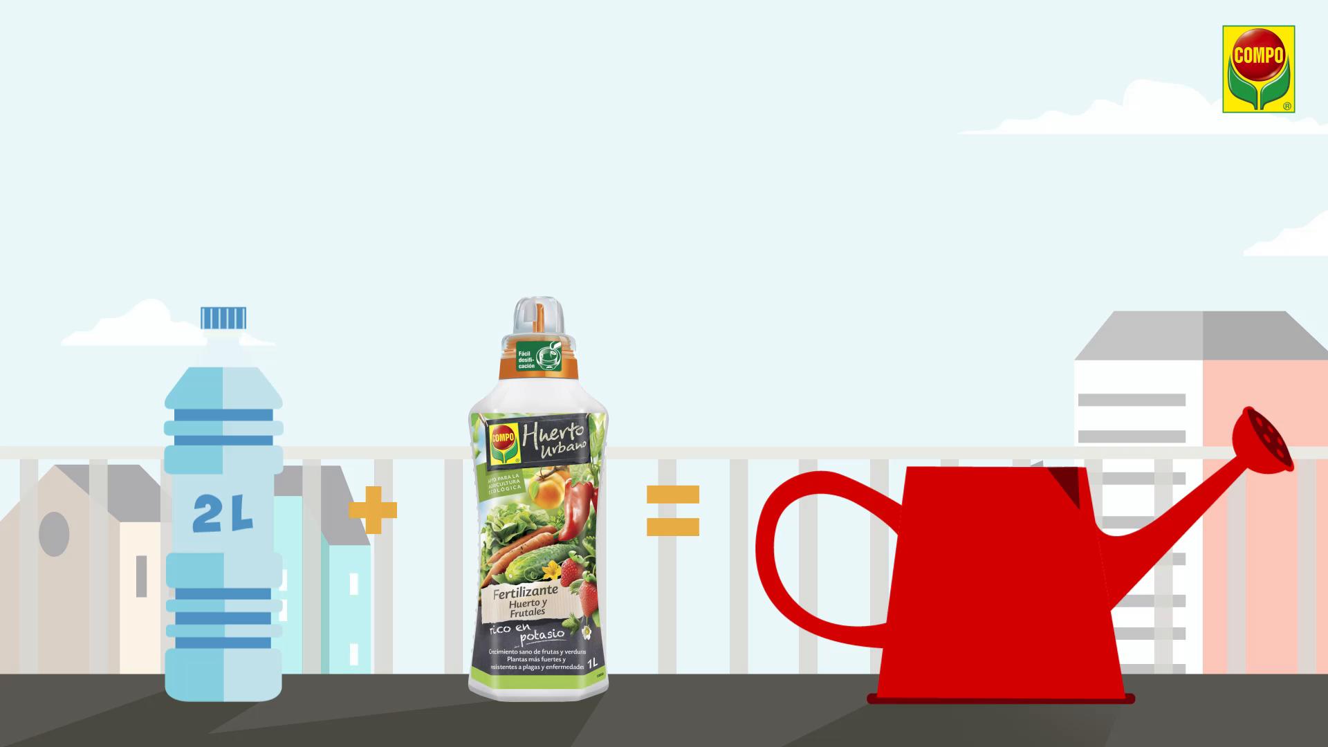 Compo Tipo de Frutas y Verduras, Fertilizante líquido Natural, 1 ...
