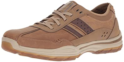 Skechers USA Men's Elment Meron Oxford, Desert, 11 M US
