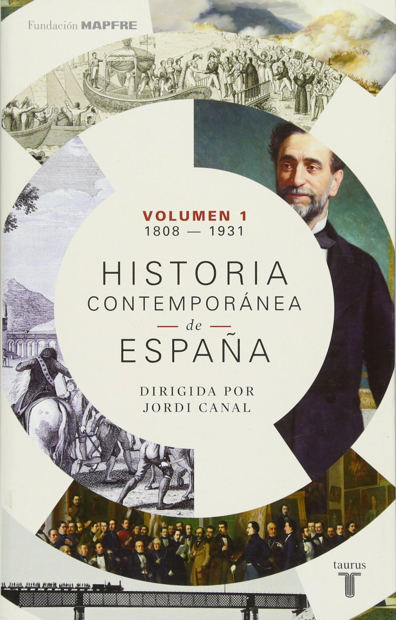 Historia contemporánea de España Volumen I: 1808-1931: Amazon.es: Varios autores: Libros