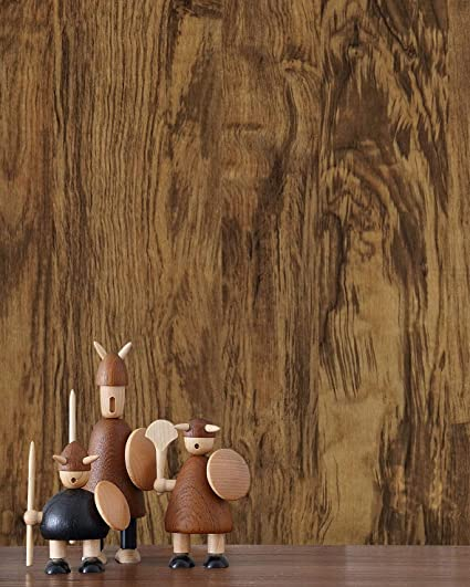 Wallpaper Brown Wood Peel And Stick Wall Paper Vintage Wood Contact Paper Wood Wallpaper Removable Shiplap Faux Rustic Wood Grain Wood Plank Self