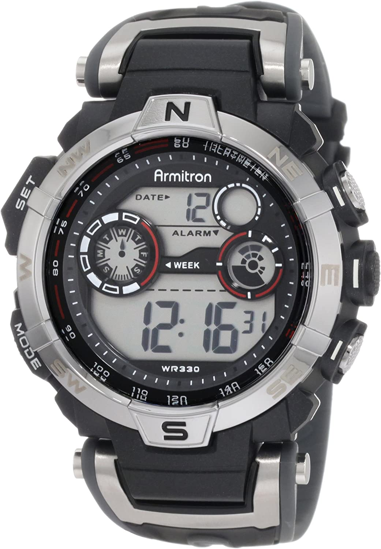 Armitron Sport Men s 408231RDGY Digital Watch
