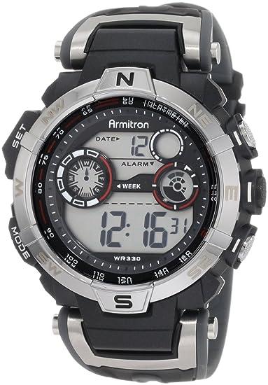 Armitron 408231RDGY - Reloj para hombres